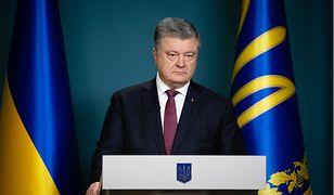 Ukraina: Rosjanie nie będą monitorować wyborów. Na zdj. Petro Poroszenko, prezydent Ukrainy