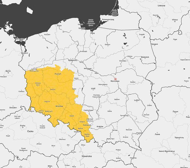 Ostrzeżenia IMGW. Burze i gradobicia nad Polską