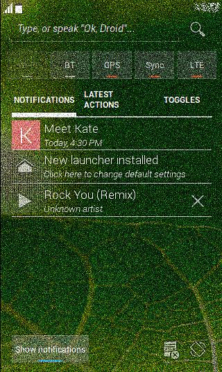 com.android.notifications - czyli nowy asystent wyszukiwania i powiadamiania