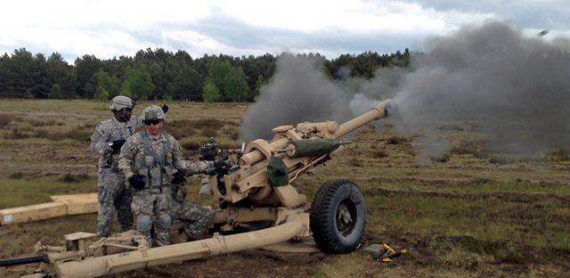 Amerykanie urządzili strzelanie pod Toruniem - zdjęcia