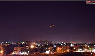 O ataku Izraela na lotnisku w Damaszku informuje agencja SANA