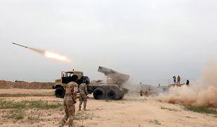 Syryjskie wojska szturmują Państwo Islamskie