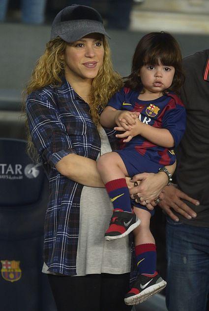 Shakira z synkiem