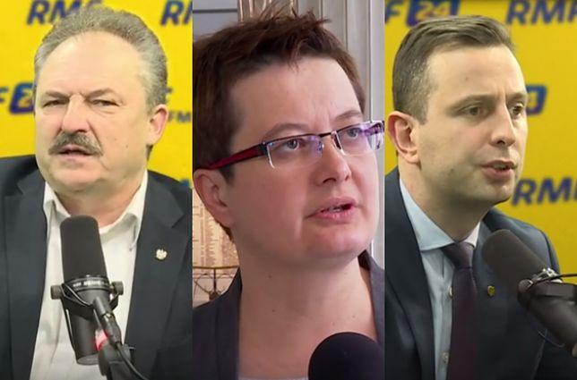 Politycy mówią, kto powinien zostać premierem.