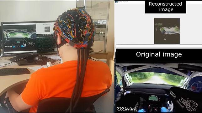 Urządzenie rosyjskich badaczy rekonstruuje obrazy poprzez widziane fale mózgowe.