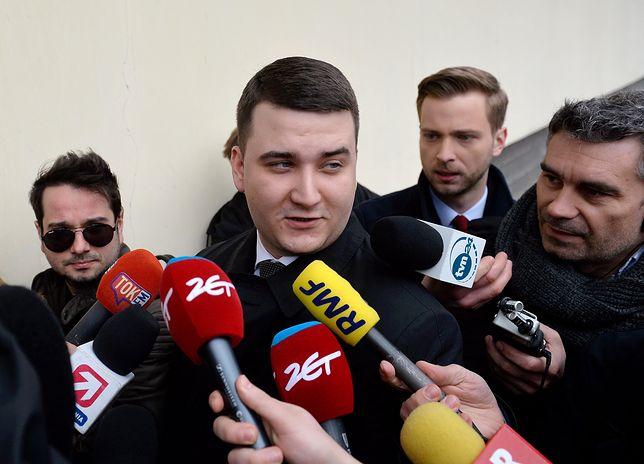 """Bartłomiej Misiewicz zaprzecza doniesieniom tygodnika """"Sieci"""""""