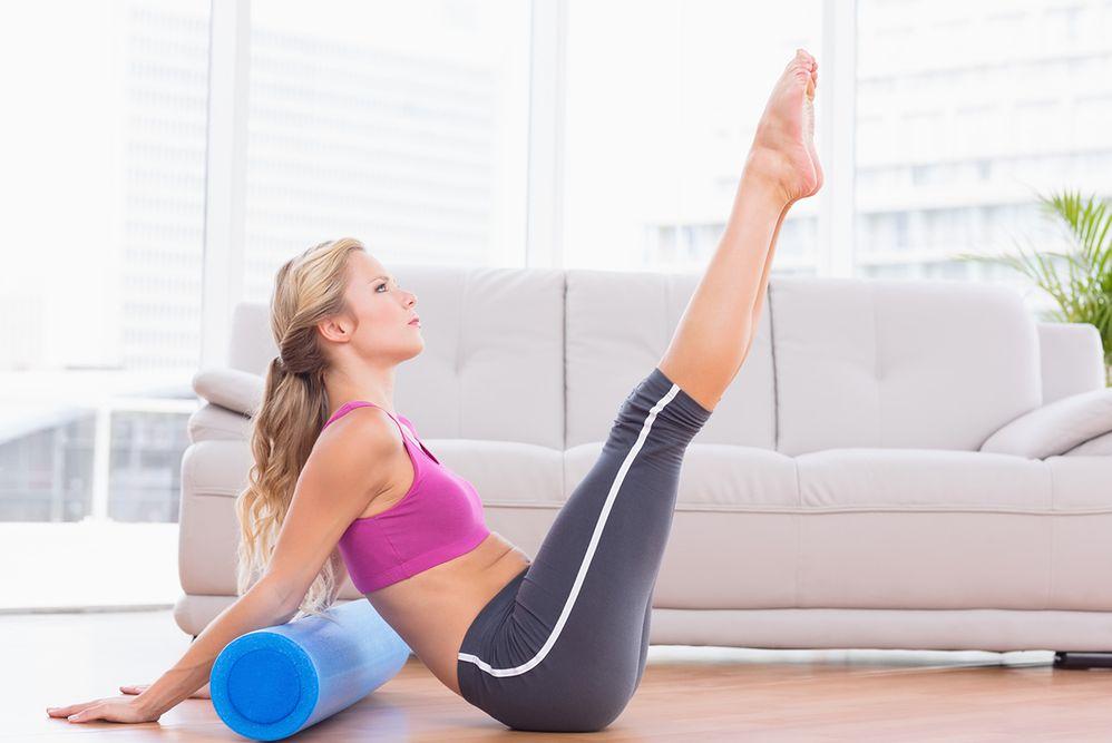 Wałek do masażu mięśni i ćwiczeń. Efekty stosowania rollera