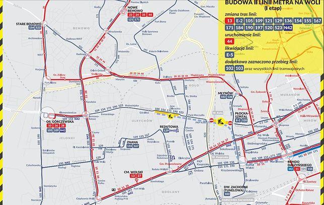 Rozbudowa II linii metra. Komunikacyjny armagedon na Woli