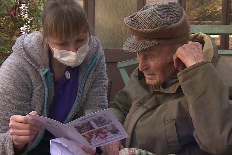 Poruszająca historia 101-latka. Ludzie nie pozostali obojętni
