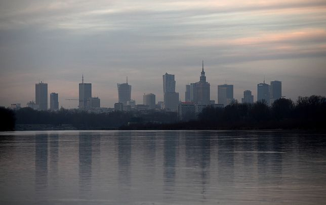 Smog Warszawa - 24 grudnia