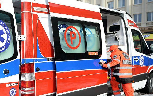 Podlasie: Karambol na moście w Baciutach. Kobieta w ciąży trafiła do szpitala