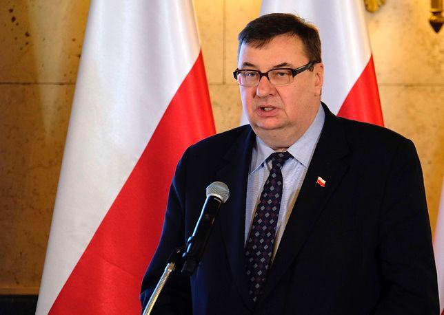 Nowy pełnomocnik rządu ds. walki z ASF, poseł PiS Szymon Giżyński, uwielbia wygłaszać nietypowe oświadczenia poselskie.
