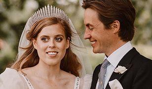 Księżniczka Beatrycze w dniu ślubu