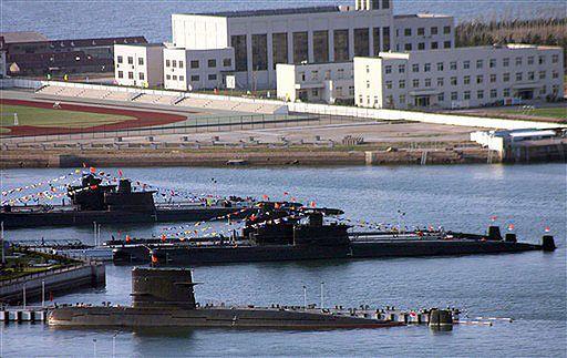 Chiny pokażą nowe podwodne okręty atomowe