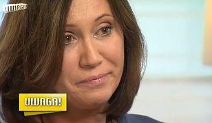Anna Nowak-Ibisz opowiada o nieudanym małżeństwie. Nie mogła powstrzymać łez