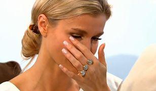 """Joanna Krupa zalana łzami: """"tylko potwór mógł coś takiego napisać"""""""