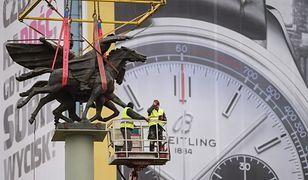 Obrót pomnika za 100 tysięcy złotych. Wiemy, na co poszły pieniądze