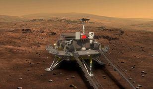 Chiński łazik na powierzchni Marsa. Z Zhurongiem nie ma kontaktu