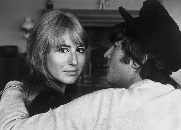 Cynthia i John Lennon
