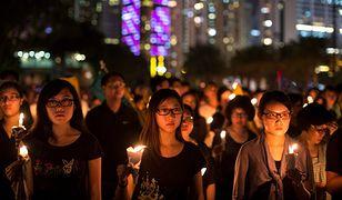 Mieszkańcy Hongkongu upamiętnili rocznicę masakry