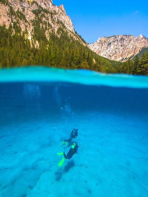 Zielone Jezioro, Austria