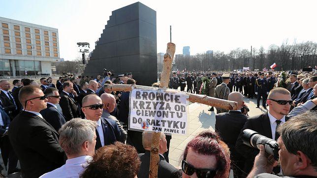 Odsłonięcie pomnika ofiar katastrofy smoleńskiej