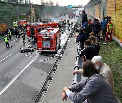 Warszawa. Tragiczny wypadek na trasie S8. Prokuratura wszczęła śledztwo