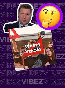 """#WolnaSzkoła - o co chodzi z czerwonymi ekierkami? Czarnek """"olał"""" ten protest"""