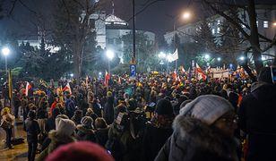 Warszawa, Sejm. Protesty z grudnia 2016 roku