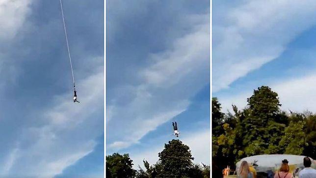 Gdynia. Podczas skokuk na bungee mężczyźnie pękła lina
