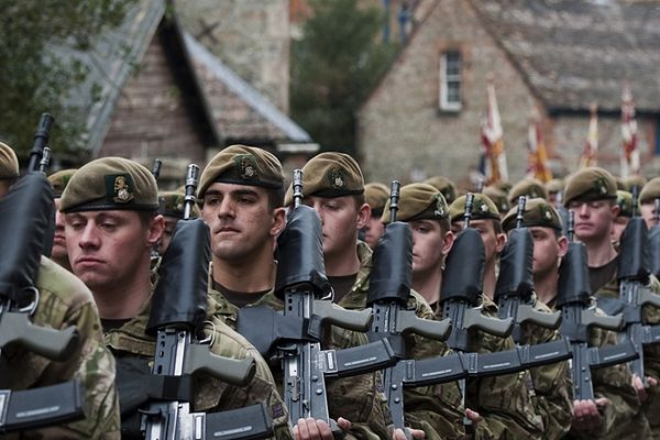 Brytyjscy żołnierze