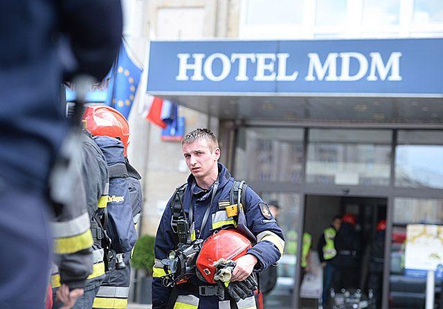 Pożar hotelu w Warszawie - zdjęcia tygodnia