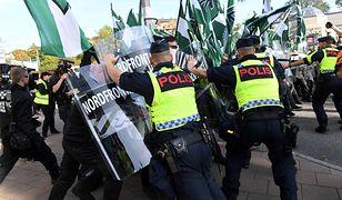 Szwedzcy neonaziści starli się z policją w Goeteborgu