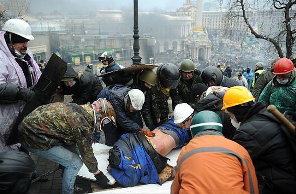 Co najmniej 35 zabitych - krwawy czwartek w Kijowie