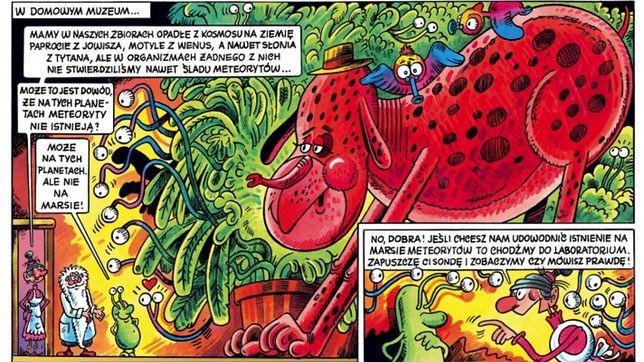 """""""Do bani z takim komiksem!"""" Tadeusza Baranowskiego to wciąż cudownie absurdalny humor i lingwistyczne zabawy"""