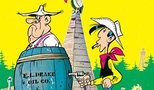 Lucky Luke. W cieniu wież wiertniczych. Tom 18