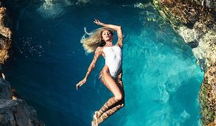 Candice Swanepoel w kampanii kostiumów kąpielowych. Ciało jak marzenie!