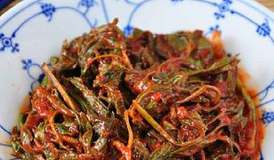 Kimchi z podagrycznika