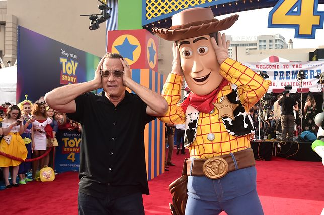 Tom Hanks od 24 lat podkłada głos Woody'emu
