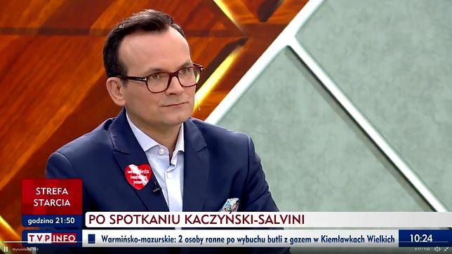 """Marcin Anaszewicz w programie """"Woronicza 17"""""""