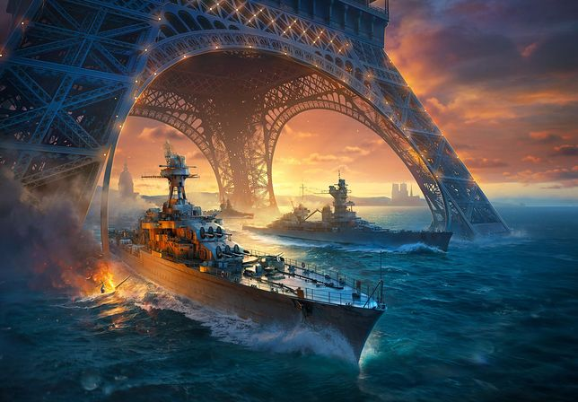 """Zwiedzaliśmy francuski okręt i testowaliśmy nowości w """"World of Warships"""" [WIDEO]"""