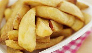 French fries z ojczyzny smażonych ziemniaków