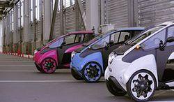 Toyota i-Road będzie testowana w Tokio
