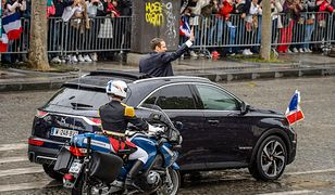Prezydent Emmanuel Macron ma nowy samochód