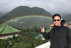 Rekordowa tęcza nad Tajwanem. Widoczna była aż 9 godzin