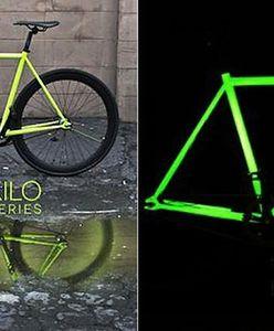 Rower ze świecącą ramą