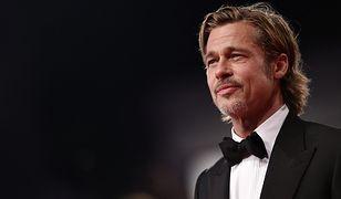 """Brad Pitt na uroczystej premierze filmu """"Ad Astra"""""""