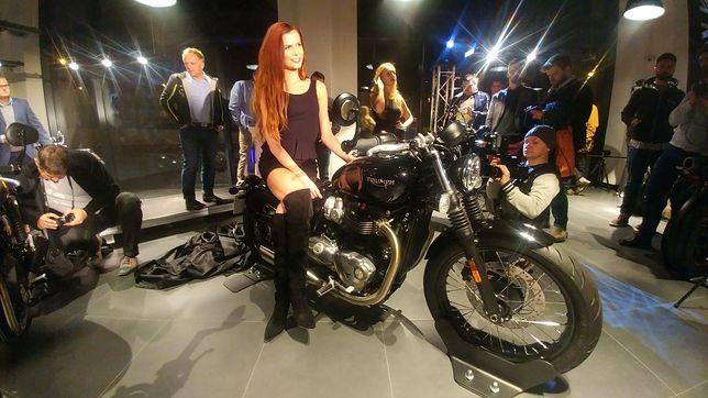 Premiery motocykli Triumph na rok 2017