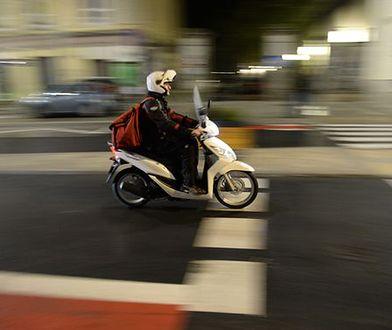 Przez miasto najszybciej przejedziemy skuterem