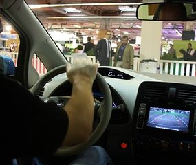 Pierwsza jazda elektrycznym Nissanem Leaf